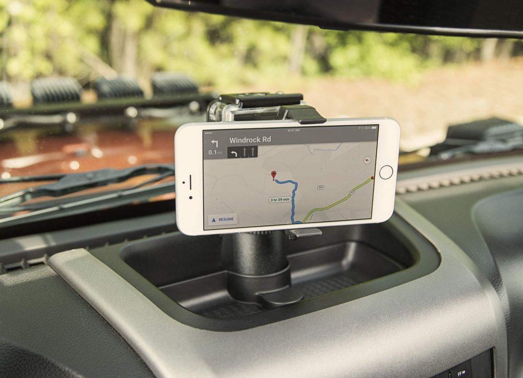 Rugged Ridge Dash JK Phone Mount
