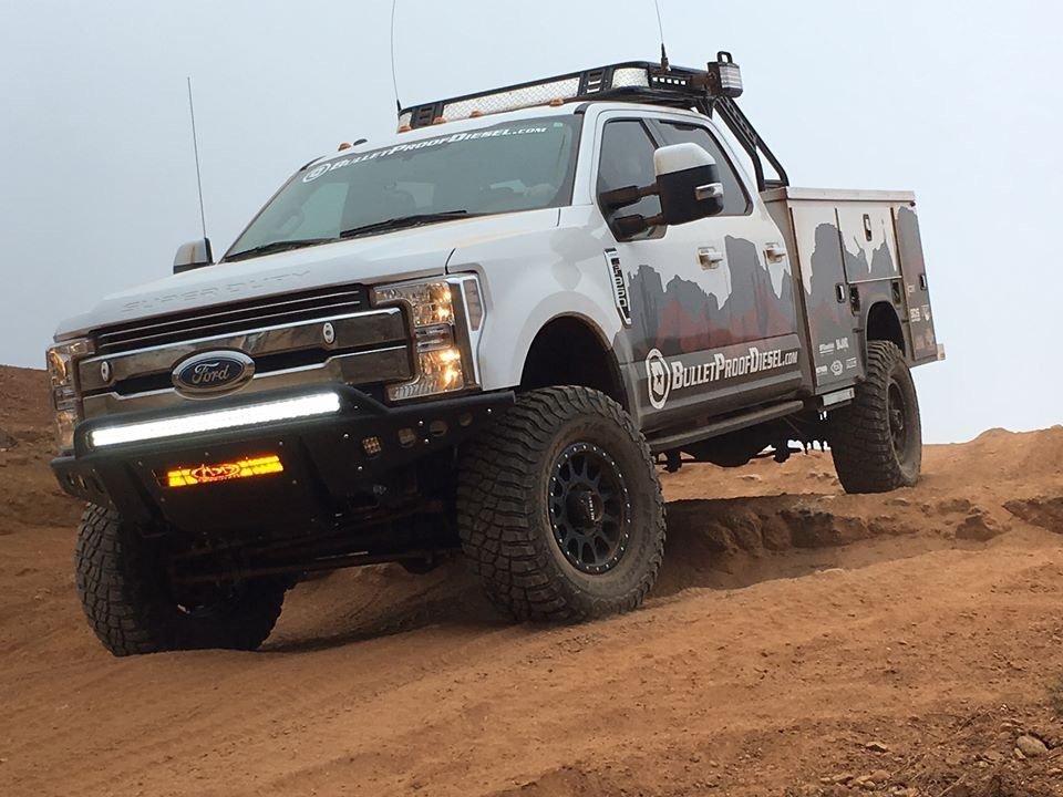 baja chase truck