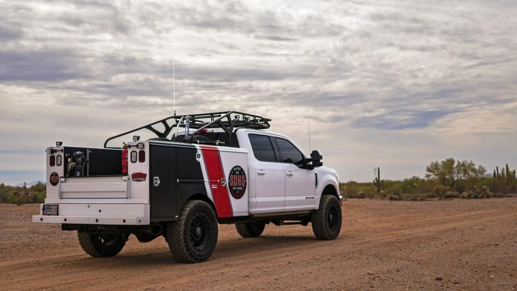 build a baja chase truck
