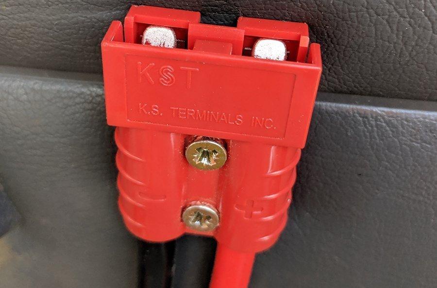 auxiliary battery plug