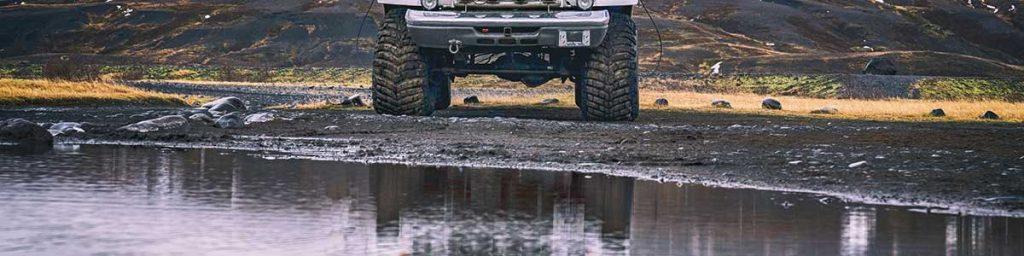 huge tires off road