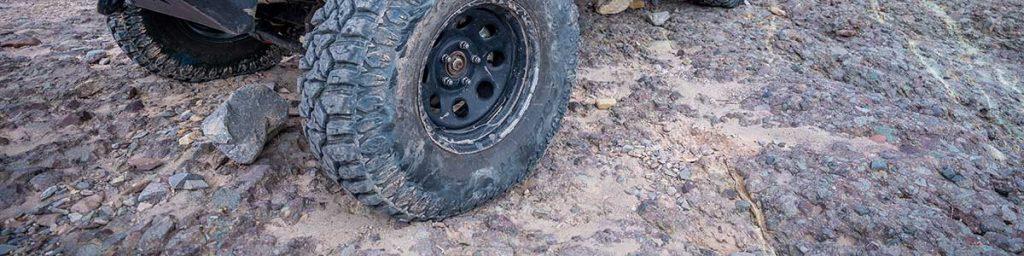 big tires rock crawling