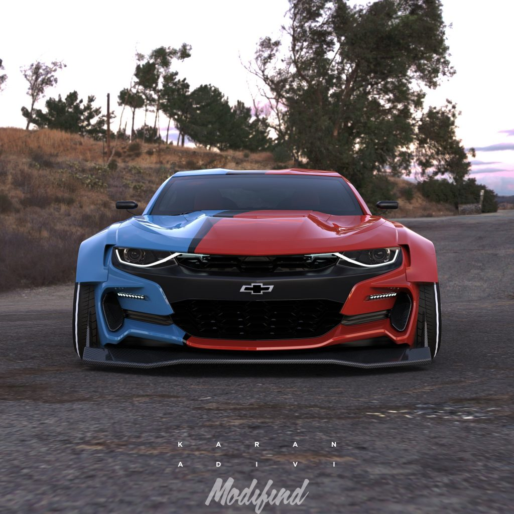 2019 Chevrolet Camaro SS SEMA Build
