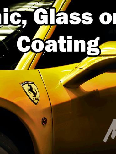 ceramic glass nano coating